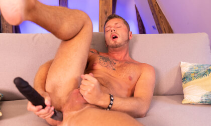 You're Not Alone - Gay Anal Toying Jerking