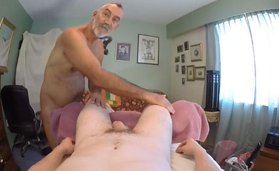 Daddy Russ Gives You a POV Erotic Penile Massage